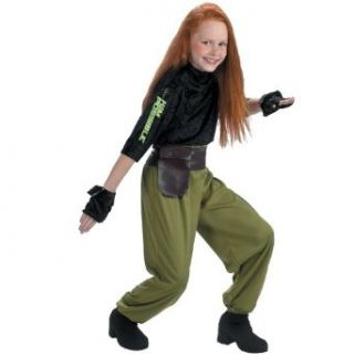 Kim Possible Agent Child Costume: Clothing
