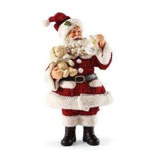 Department 56 Possible Dreams Santas Baby's 1st Christmas Santa Figurine, 11.22 Inch   Holiday Figurines