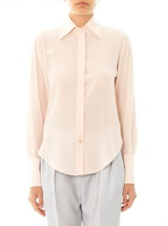 Point collar silk shirt  Maison Martin Margiela