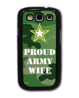 Proud Army Wife   Military   Samsung Galaxy S3 Cover, Cell Phone Case   Black: Cell Phones & Accessories