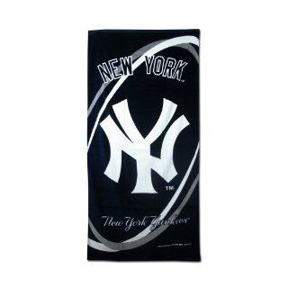 New York Yankees Towel   Yankees Beach / Bath Towel 30in x 60in