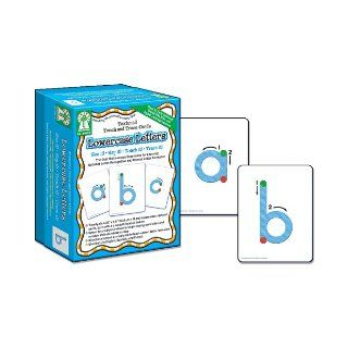 Textured Touch and Trace: Lowercase: The Best Multisensory Experience for Learning Alphabet Letter Recognition and Correct Letter Formation (Textured Touch and Trace Cards) (0044222184070): Key Education Publishing: Books