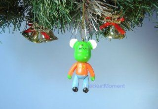 *B22 BEAR CHRISTMAS ORNAMENT MJ MICHAEL JACKSON JORDAN HOME DECORATION TREE DECOR (Original from The Best Moment @ ): Toys & Games