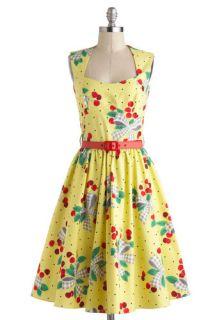 Bernie Dexter I'm All Cheers Dress in Cherries Jubilee  Mod Retro Vintage Dresses