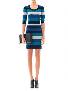 Stripe knit body con dress  Jonathan Simkhai