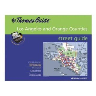 Thomas Guide Street Finder, Los Angeles Area, Color Maps (RAN528859382) Category Maps Electronics