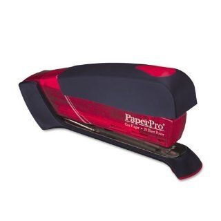 PaperPro Products   PaperPro   Desktop Stapler, 20 Sheet Capacity, Translucent Red   Sold As 1 Each   Rely on the stapler that set the standard for easier power assist stapling.   Provides the power to drive a staple through up to 20 sheets of paper with j