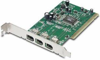 New Trendnet Tfw H3pi 3 Port Firewire Host Pci Adapter Provides Software Interrupt Control