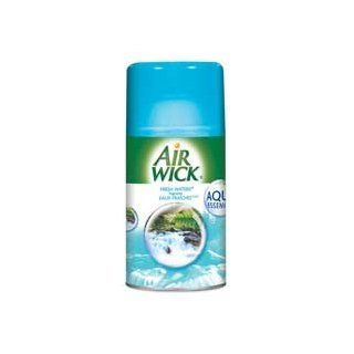 Reckitt & Benckiser Products   Air Freshener Refill, for Freshmatic Kit, Fresh Water   Sold as 1 EA   Refill is designed for use with Reckitt & Benckiser Air Wick Freshmatic Ultra Metered Automatic Spray systems. Air freshener provides up to 60 day