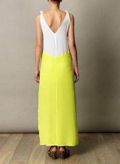 Acid yellow maxi dress  Anna & Boy