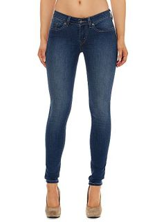 Levis 535 Leggings in Era Denim Mid Wash
