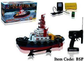 "20"" Rc Harbor Tug Boat Toys & Games"