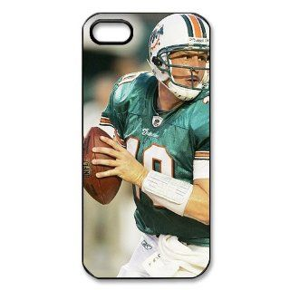 DIYCase NFL Series Miami Dolphins   Anti Scratch Hard One Piece Case for iphone 5   Black Back Case Custom   2381754: Cell Phones & Accessories