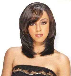 """QUE BOUNCE 8""""   Shake N Go MilkyWay Que Human Hair MasterMix Weave Extensions #1B Health & Personal Care"""