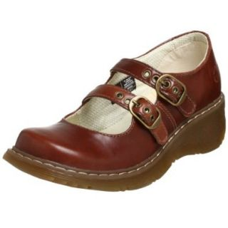 Dr. Martens Women's Candie Mary Jane,Dark Brown,9 UK (US Women's 11 M) Shoes