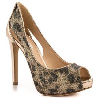 Guess Shoes Harrahly   Brown Multi Pumps Shoes Shoes