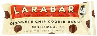 LARABAR Fruit & Nut Food Bar, Chocolate Chip Cookie Dough, Gluten Free, 1.6 oz. Bars, (Pack of 16) : Breakfast Energy And Nutritional Bars : Grocery & Gourmet Food