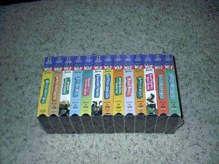 National Geographic Kids Really Wild Animals 13 vhs Collection: Movies & TV