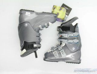 New Salomon Performa 4.0 Women's Gray Ski Boots Size 5 : Sports & Outdoors