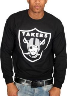 Tru Designz Men's Ice Cube Takers T Shirt Oakland Raiders LA: Clothing