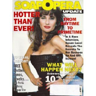 Susan Lucci, All My Children, Jeff Trachta, Colleen Dion, Soaps' 10 Most Asked Questions   February 23, 1993 Soap Opera Update Magazine: Angela Shapiro: Books