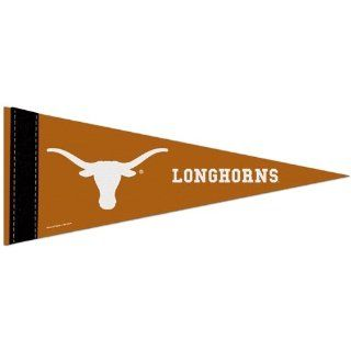 "Texas Longhorns Official NCAA 10""x4"" Mini Pennant : Sports Related Pennants : Sports & Outdoors"