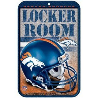 NFL Denver Broncos Sign   Locker Room : Sports Related Merchandise : Sports & Outdoors