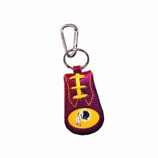 Washington Redskins Team Color NFL Football Keychain : Sports Related Key Chains : Sports & Outdoors