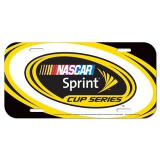 NASCAR OFFICIAL LOGO LICENSE PLATE : Sports Related Collectibles : Sports & Outdoors