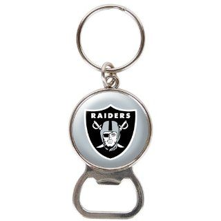 Oakland Raiders   NFL Bottle Opener Keychain : Sports Related Key Chains : Sports & Outdoors