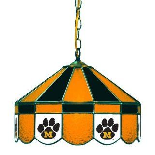 "Missouri Tigers 16"" Swag Lamp w/Paw Logo : Sports Related Merchandise : Sports & Outdoors"