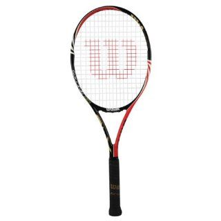 Wilson Six.One 95 18 Main BLX Racquet 4 5/8 : Advanced Tennis Rackets : Sports & Outdoors