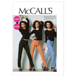 McCall Patterns M6610E50 Misses'/Miss Petite Jeans Sewing Pattern, Size E5 (4 16 18 20 22)