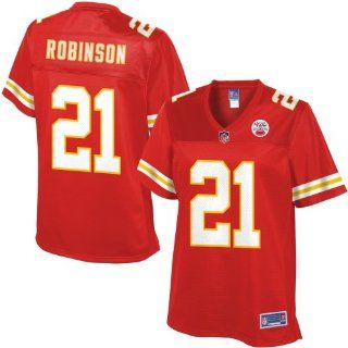Pro Line Womens Kansas City Chiefs Dunta Robinson Team Color Jersey : Sports Fan Apparel : Sports & Outdoors