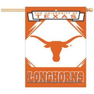 University of Texas Longhorns Flag   Vertical : Sports Related Collectibles : Sports & Outdoors