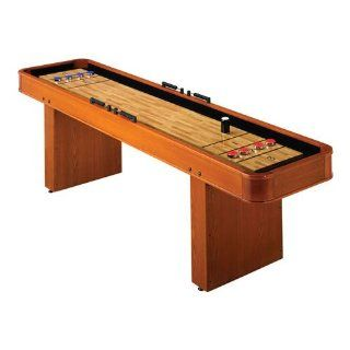 Harvard 9 Foot Wood Veneer Shuffleboard Table : Sports & Outdoors