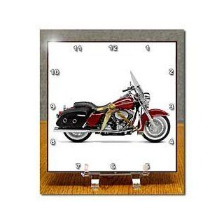 Desk Clock Picturing Harley Davidson® Motorcycle : Other Products : Everything Else