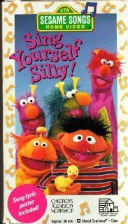 Sesame Songs   Sing Yourself Silly [VHS]: Random House Home Video: Movies & TV