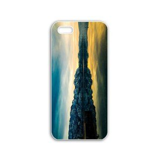 Really Cool Iphone 5 Mobile Case DIY New Creative Cellphone Back Cover with Popular Fantasy Pictures Cool Backgrounds Series fourteeen Natural Scenery: Cell Phones & Accessories