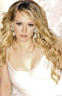 Hilary Duff Poster White Dress   Prints