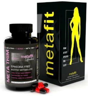 META TRIM LADIES   All Natural weight loss pills with Garcinia Cambogia, L Carnitine , Green Tea & More! Works as an Appetite Suppressant, Energy Booster & Fat Shredder. RESULTS GUARANTEED for women!: Health & Personal Care