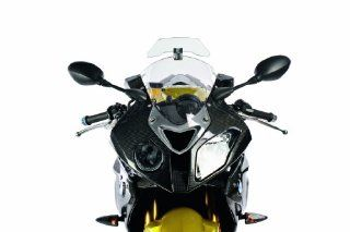 Wunderlich Universal Motorcycle Fully Adjustable Windshield Wind Deflector, Smoked Version: Automotive