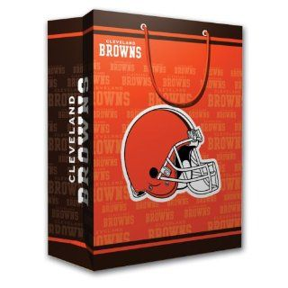 NFL Cleveland Browns Gift Bag, Medium : Sports Related Merchandise : Sports & Outdoors