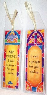 I Said A Prayer For You Today Bookmarks Set of 2  Friendship Prayers