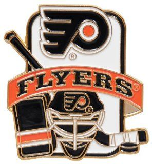 NHL Philadelphia Flyers Equipment Pin : Sports Related Pins : Sports & Outdoors