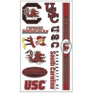 South Carolina Gamecocks Tattoo Sheet : Sports Related Collectibles : Sports & Outdoors