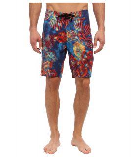 Volcom Mod Stream Lido Weedo Boardshort Mens Swimwear (Navy)