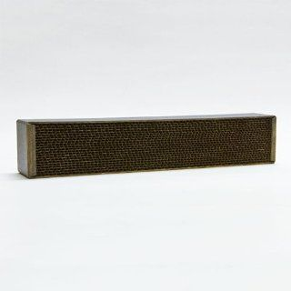 "STEELCAT Steel Honeycomb Catalytic Combustor (CS 257 / 1P259 gasket Qty. 2) for VERMONT CASTINGS wood stoves (Models Defiant, Encore, Large Winter Warm Insert). Measures 2.5"" wide by 13"" long by 2"" thick. STEEL HEATS UP FASTER THAN CERAMIC R"