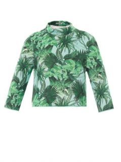 Tropical print neoprene sweatshirt  Emma Cook  MATCHESFASHIO