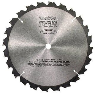 Makita 792736 2 10 Inch 24 Tooth ATB Ripping Saw Blade with 5/8 Inch Arbor   Table Saw Blades